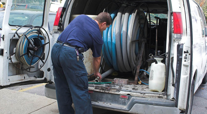 What is the significance of sewer and drain cleaning?