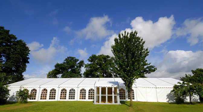 Rent a tent to have a royal event